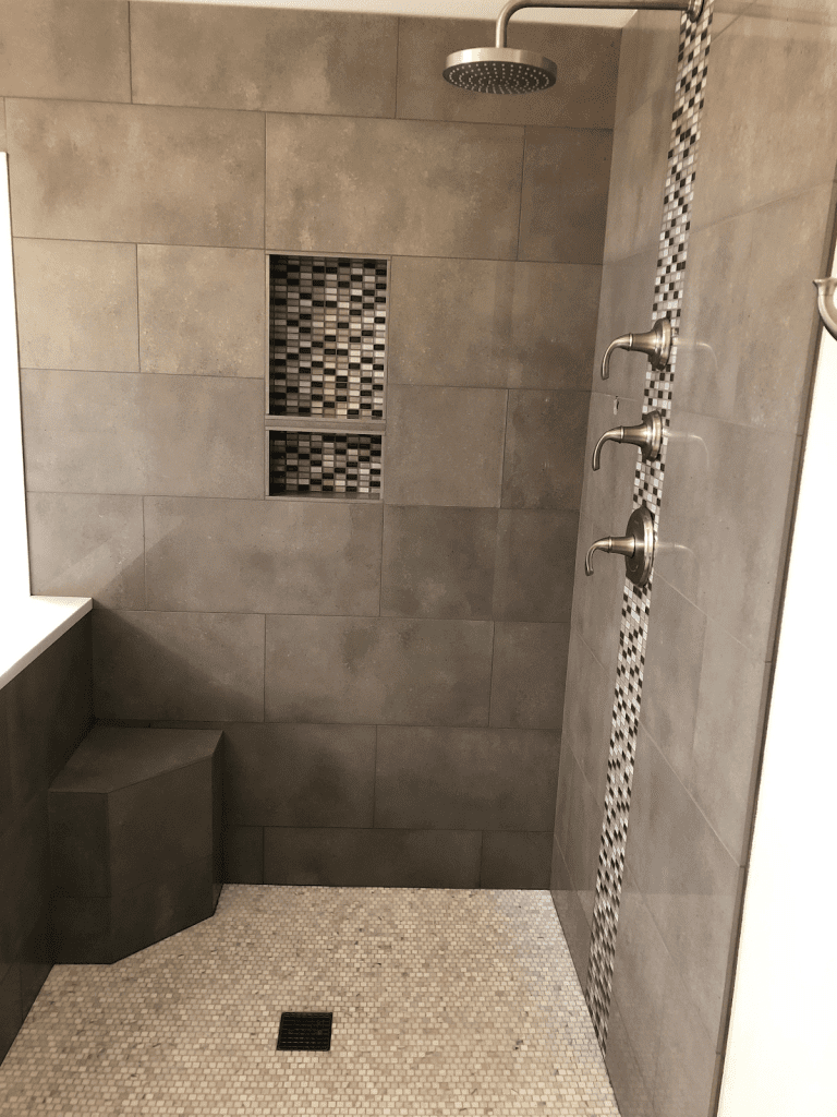 Seattle Style Remodel Walk-In Shower Remodel 3