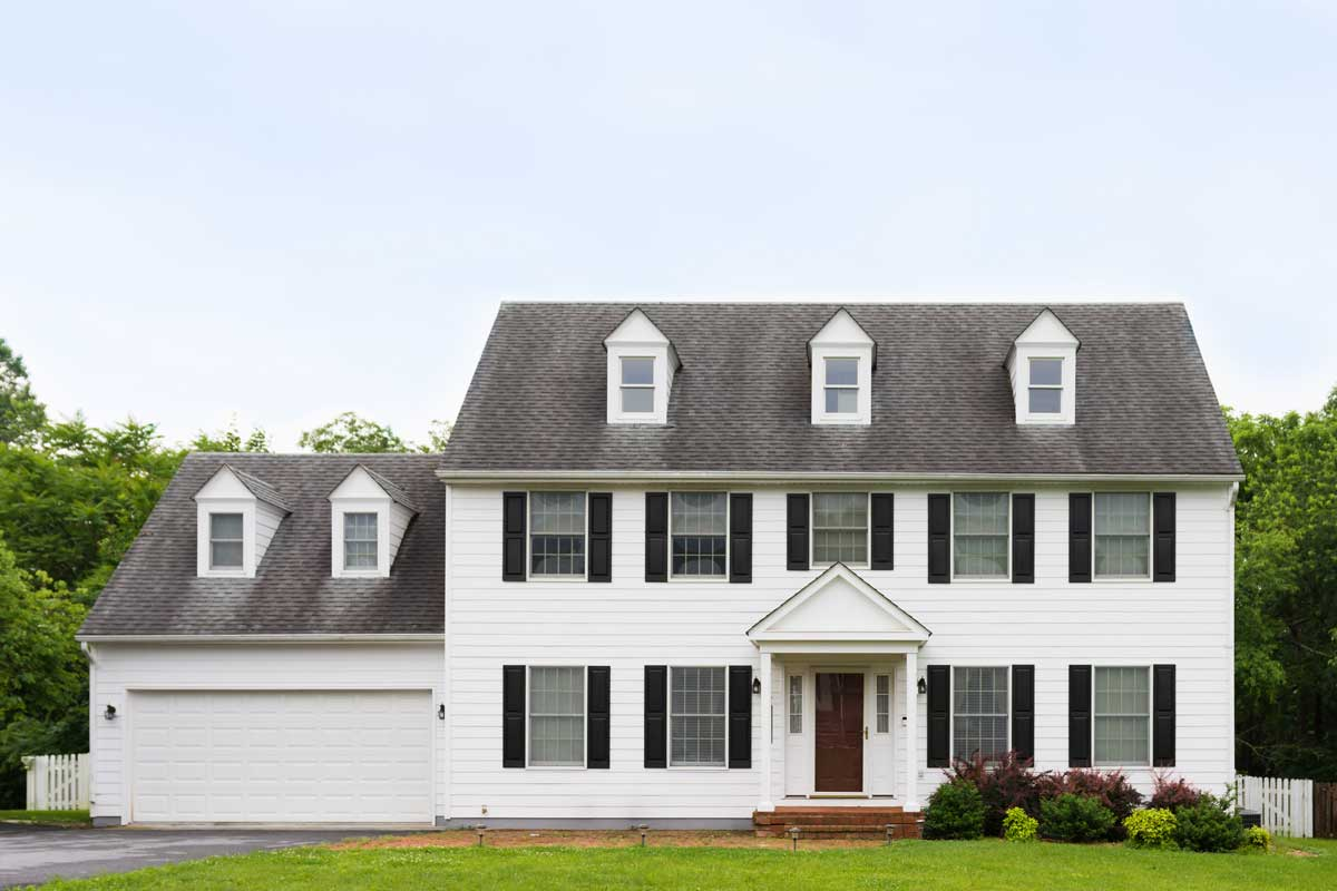 colonial revival homes